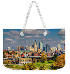 Autumn In Kansas City Weekender Tote Bag