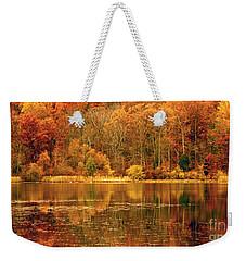 Autumn In Mirror Lake Weekender Tote Bag