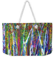 Autumn In Muskoka Weekender Tote Bag by Claire Bull