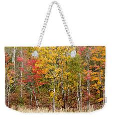 Autumn In Muskoka Weekender Tote Bag by Les Palenik