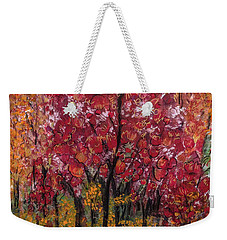 Autumn In Nashville Weekender Tote Bag by Holly Carmichael