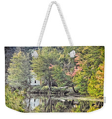 Autumn In Pastel Weekender Tote Bag