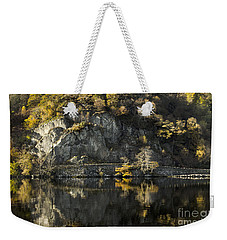 Autumn In The Lake Weekender Tote Bag by Linsey Williams