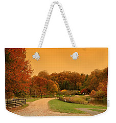 Autumn In The Park - Holmdel Park Weekender Tote Bag