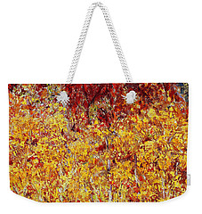Autumn In The Pioneer Valley Weekender Tote Bag by Regina Valluzzi
