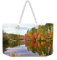 Autumn In The South Weekender Tote Bag