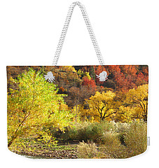 Autumn In Zion Weekender Tote Bag by Alan Socolik