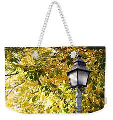 Autumn Lamp Post Weekender Tote Bag