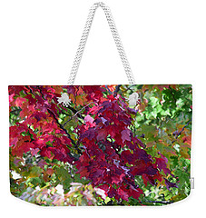Autumn Leaves Reflections Weekender Tote Bag