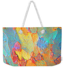 Autumn London Plane Tree Abstract 2 Weekender Tote Bag