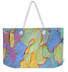 Autumn London Plane Tree Abstract 4 Weekender Tote Bag