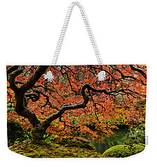 Autumn Magnificence Weekender Tote Bag by Don Schwartz