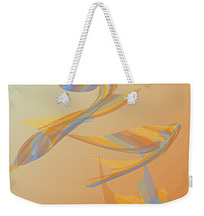 Weekender Tote Bag featuring the digital art Autumn Migration by Stephanie Grant