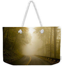 Autumn Mist Blue Ridge Parkway Weekender Tote Bag by Terry DeLuco