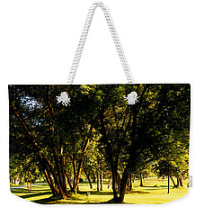 Autumn Morning Stroll Weekender Tote Bag