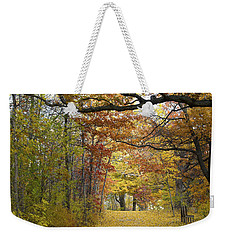 Autumn Nature Trail Weekender Tote Bag