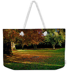 Autumn Weekender Tote Bag by Nina Ficur Feenan