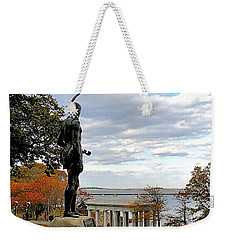 Autumn On Coles Hill Weekender Tote Bag