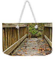 Autumn On The Bridge Weekender Tote Bag