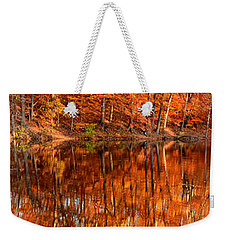 Autumn Paradise Weekender Tote Bag by Lourry Legarde