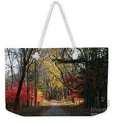 Autumn Paths    No.2 Weekender Tote Bag