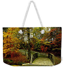 Autumn Peace Weekender Tote Bag by James C Thomas