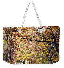 Autumn Pedestrian Path Weekender Tote Bag