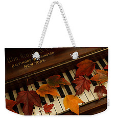 Autumn Piano 14 Weekender Tote Bag