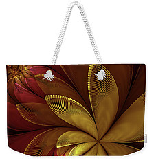 Autumn Plant Weekender Tote Bag by Gabiw Art