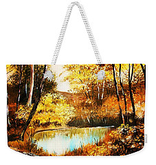 Changing Of The Season Weekender Tote Bag