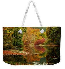 Autumn Pond Weekender Tote Bag