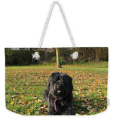 Weekender Tote Bag featuring the photograph Autumn Portrait by Vicki Spindler