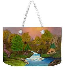 Autumn Retreat Weekender Tote Bag