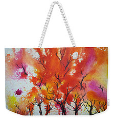 Autumn Riot Weekender Tote Bag