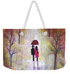 Autumn Romance Weekender Tote Bag