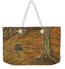 Autumn Sequence Weekender Tote Bag by Felicia Tica