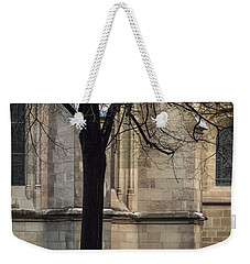 Weekender Tote Bag featuring the photograph Autumn Silhouette by Muhie Kanawati