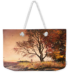 Autumn Simphony In France  Weekender Tote Bag by Sorin Apostolescu