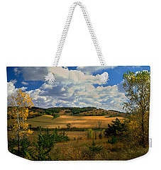 Autumn Skies Weekender Tote Bag