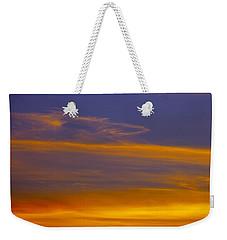 Autumn Sky Landscape Weekender Tote Bag