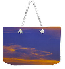 Autumn Sky Portrait Weekender Tote Bag