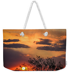 Autumn Sunrise Weekender Tote Bag