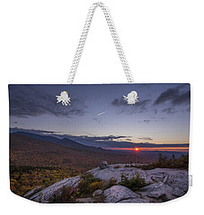 Autumn Sunset Over Sugarloaf Mountain Weekender Tote Bag