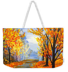 Autumn Trail Weekender Tote Bag by Darren Robinson