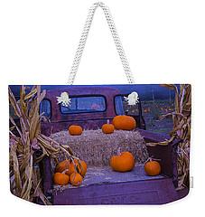 Autumn Truck Weekender Tote Bag by Garry Gay