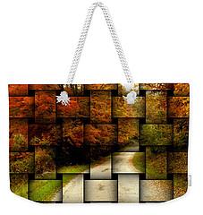 Autumn Weave Weekender Tote Bag