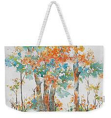 Autumn Woods Weekender Tote Bag by Pat Katz