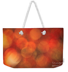 Autumnal Amber Weekender Tote Bag by Jan Bickerton