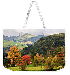 Autumnal Colours In Austria Weekender Tote Bag