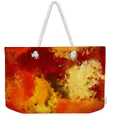 Autumn's Abstract Beauty Weekender Tote Bag